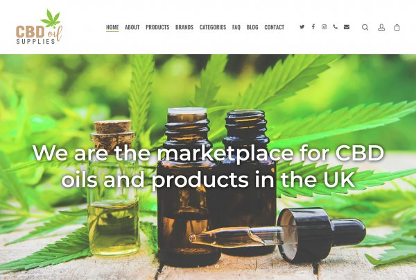 Leicester Web Project CBD Oils