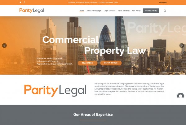 Leicester Web Project Parity Legal