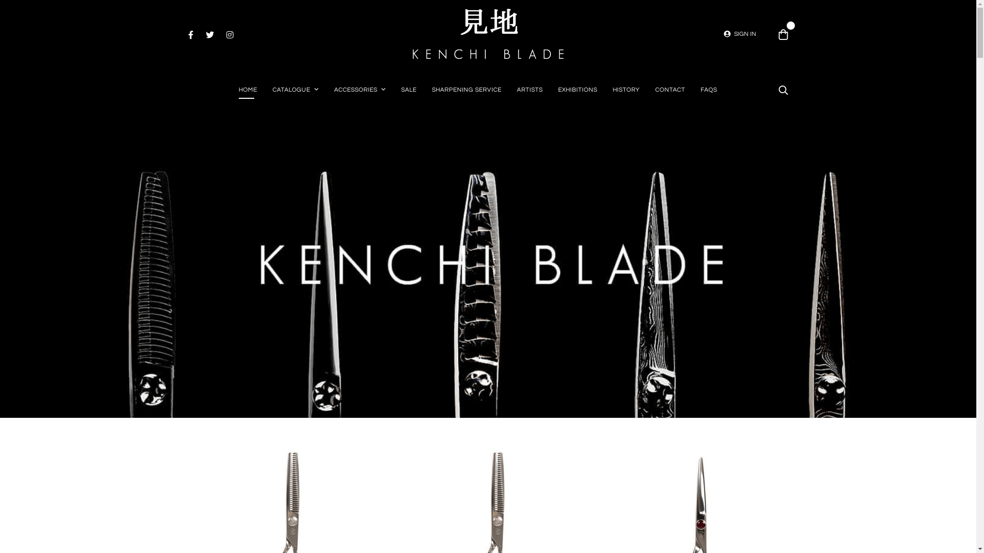 Kenchi Blade – Hand Crafted Professional Japanese Scissors